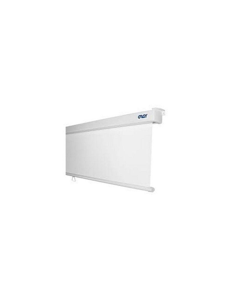 Ecran Manuel ORAY 2000 PRO - Format carré 1/1 - toile blanc mat - 150x150 - Videoson.eu