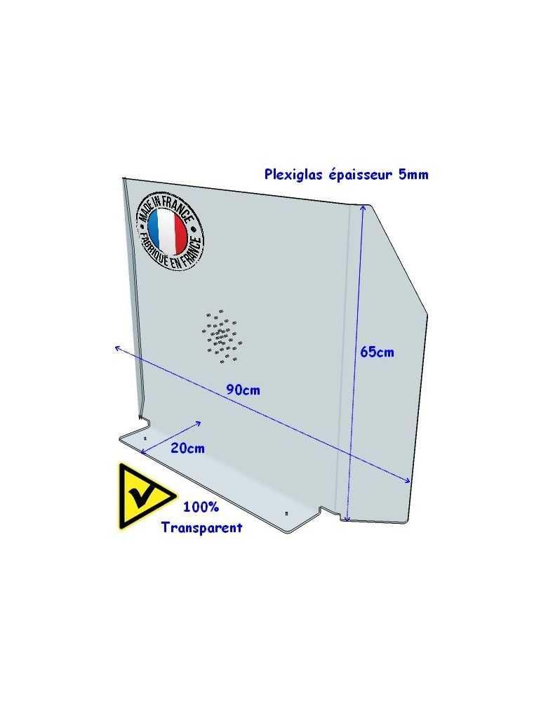 Hygiaphone plexiglas protection barrière covid-19