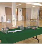 Pack protection des bureaux de vote (2 protections urnes + 2 protections émargement) - Réf.: FlxPRUPRL