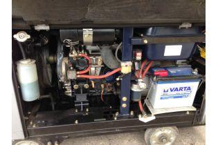 Groupe electrogene 10Kva HONDA EX10D 230V - 10000 VA / 50 Hz  (demarreur elec.) - Moteur Diesel - Monohase - Videoson.eu