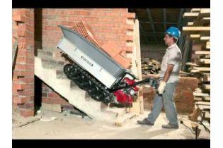 Transporteur à chenille Honda HP500 H escalier intérieur