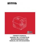 HONDA E1500 - Manuel utilisateur - Mode d'emploi - Notice HONDA