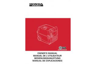 HONDA EX1000 - Manuel utilisateur - Mode d'emploi - Notice HONDA