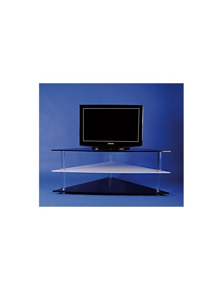 Meuble D Angle Plexiglas Pour Ecran Plat Ref Flxatv 266 00 Flxatv Meubles Tv Hifi Transparents