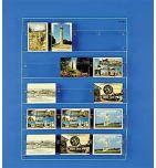 Présentoir cartes postales plexiglas mural - videoson.eu