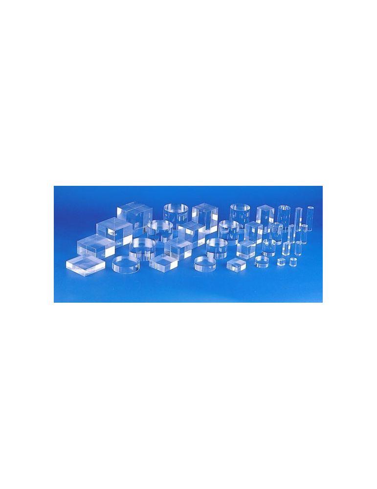 Cylindre/colonne plexiglas diamètre 25 Ht 75mm - videoson.eu