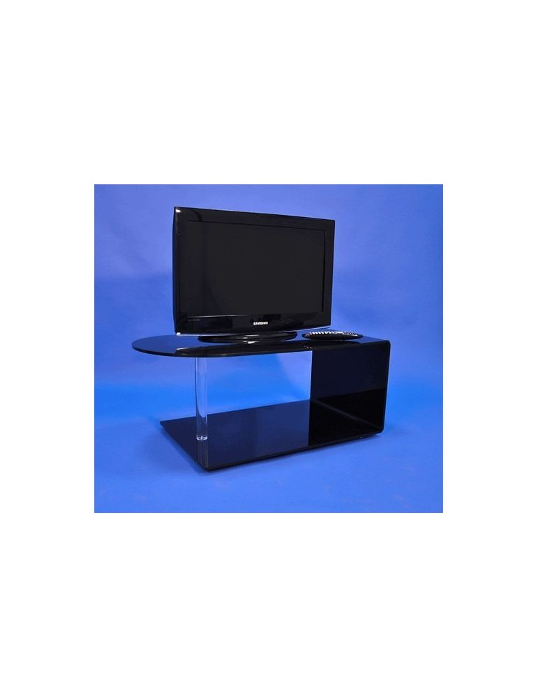 Table Tv écran Plat Noire