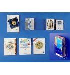 PRESENTOIR MURAL plexiglas 4 CASES A5 15/21 - videoson.eu