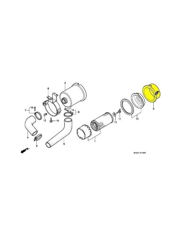 COUVERCLE COMP. FILTRE A AIR - Honda EX10D EXT12D - Videoson.eu