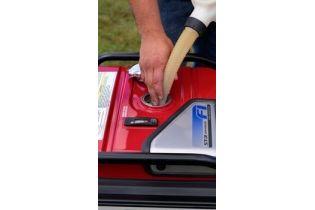 Honda EU70is remplissage carburant essence - Videoson.eu