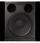 Enceinte amplifiée Electrovoice EV ELX118P, Sub amplifié, 1 x 18'' + 1 x 1''5, ampli 700W face nue