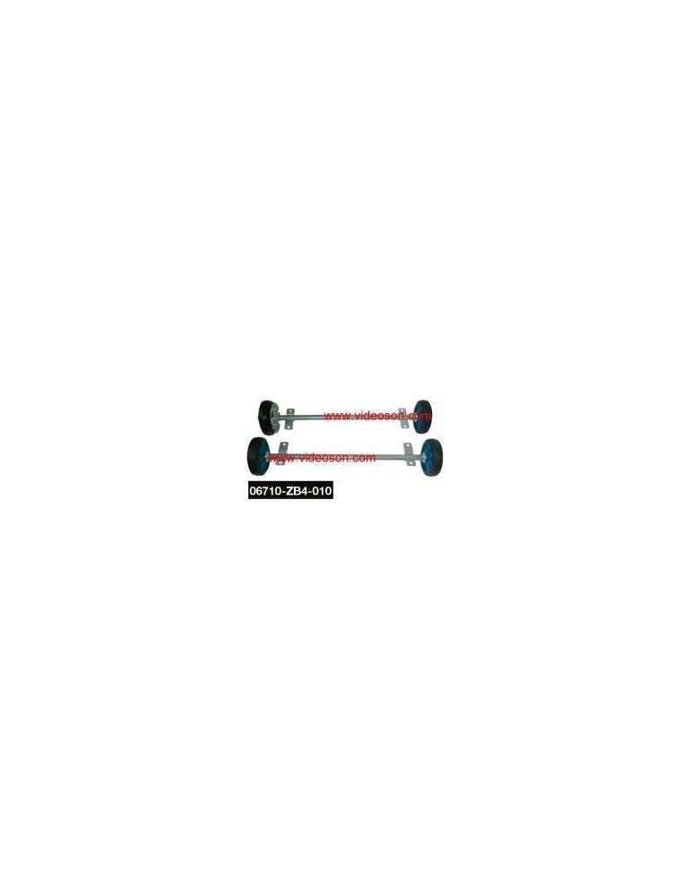 Kit 4 roues pour groupe electrogene Honda EM3100CX(S) - EM4500CX(S) - EM5500CX(S) - Videoson.eu