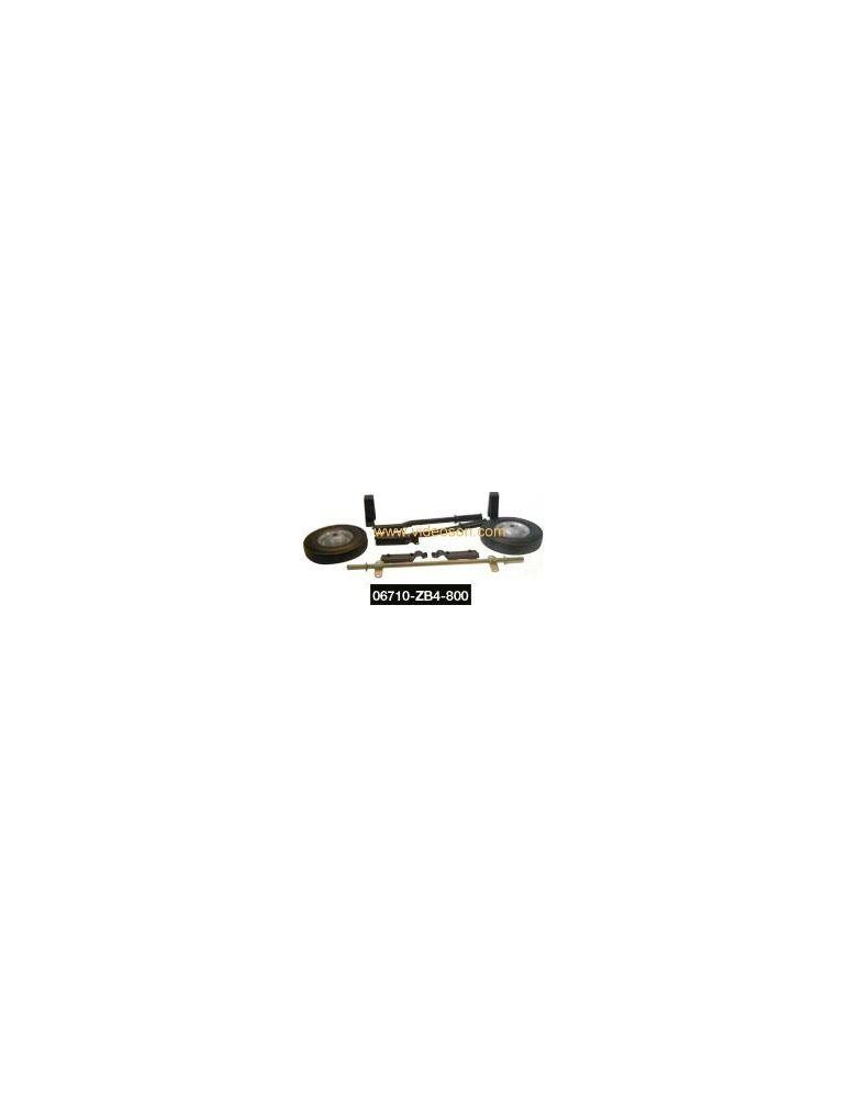 Kit brouette 2 roues pour groupe electrogene Honda EM4500S - Videoson.eu