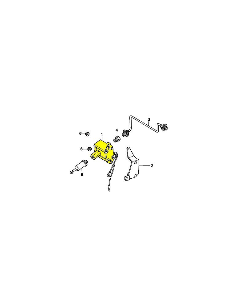 Pompe à essence pour groupe électrogène HONDA EV3610