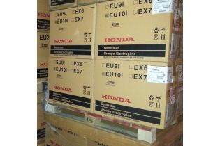 Groupe electrogene HONDA EU10i 230V - 1000 VA / 50 Hz + 12 V - 8 A  - inverter - Stock palette