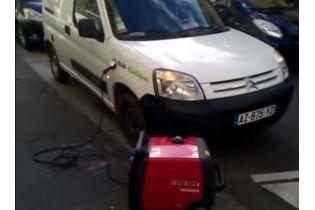 Groupe electrogène HONDA EU30i 230V - 3000VA / 50 Hz Magnesium ultra-portable en appoint pour votre voiture électrique