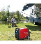 Groupe electrogène HONDA EU30i 230V - 3000VA / 50 Hz Magnesium ultra-portable pour votre camping-car - Videoson.eu
