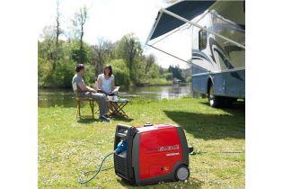 Groupe electrogène HONDA EU30i 230V - 3000VA / 50 Hz Magnesium ultra-portable pour votre camping-car