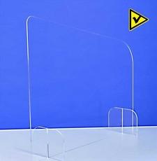 séparateur de bureau vitre plexiglas