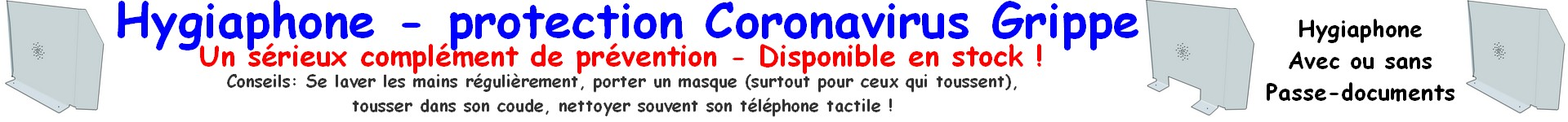 hygiaphone coronavirus covid-19 grippe anti-virus prévention épidémie pandemie